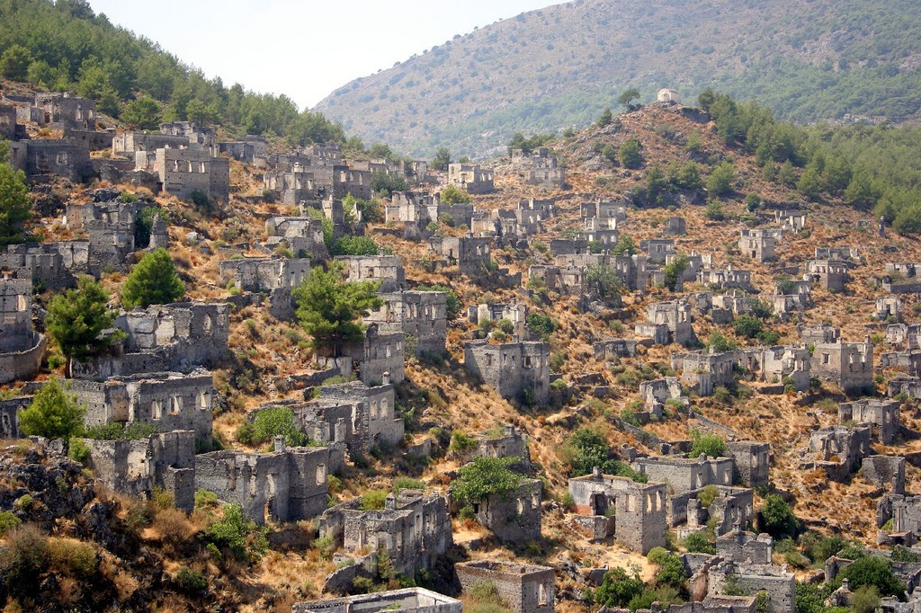 Kayakoy - The Greek Ghost Town In Turkey - Lateet