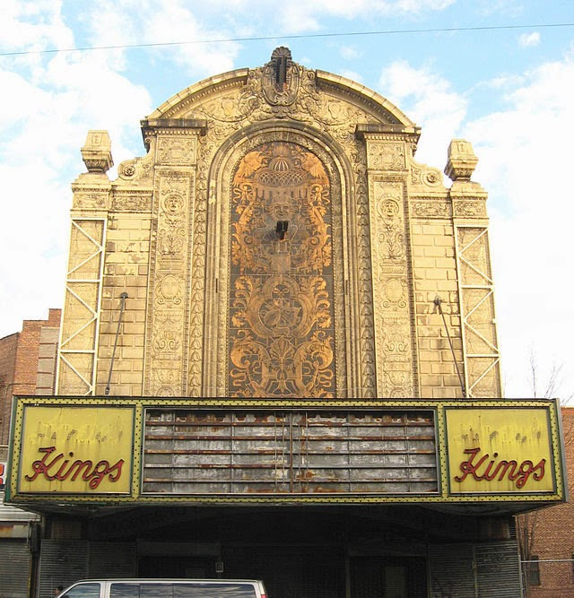 The Abandoned Loew's Kings Theatre In New York