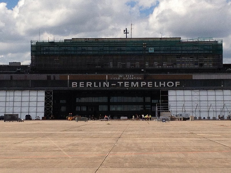 how to get to tempelhof airport